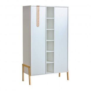 Armoire double blanche Collection Yeti