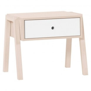 Table de nuit blanche Collection Spot Young