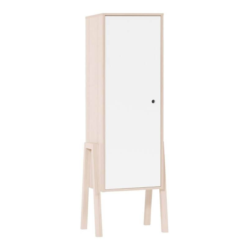 Armoire simple blanche Collection Spot Young