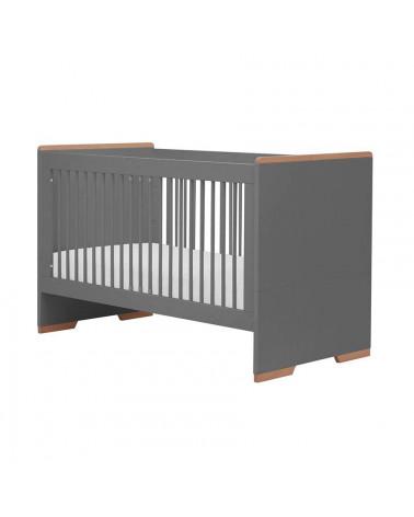 Lit bébé évolutif noir 140x70 collection Snap