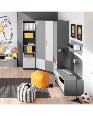 Bibliothèque enfant Pok dans une chambre