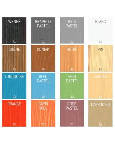 Lit superposé Salomon personnalisable dans ces couleurs, nous contacter pour personnaliser.