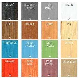 Lit superposé Natu 2 personnalisable dans ces couleurs, nous contacter pour personnaliser.