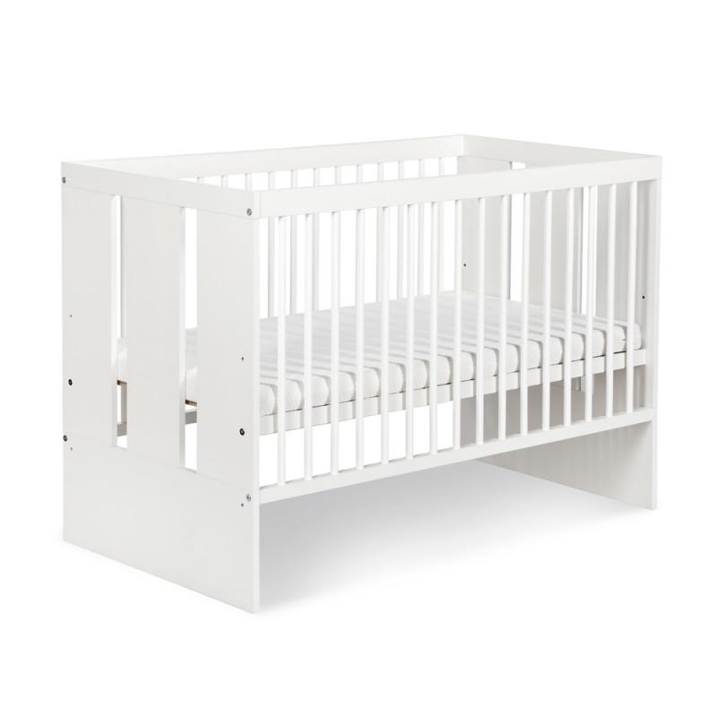 Lit bébé 120x60 Paula blanc
