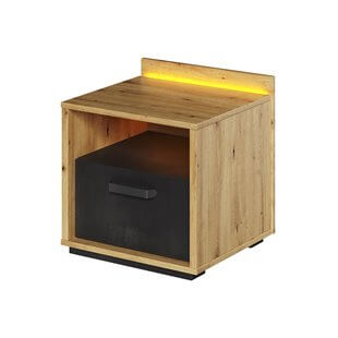 Table de chevet Qubic avec tiroir pour chambre ado
