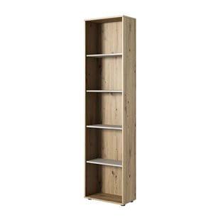 Bibliothèque KUKO en chêne artisan pour chambre ado