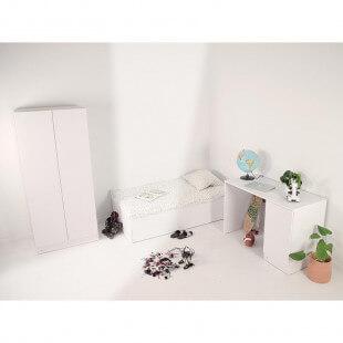 Chambre complète pour enfant LIO blanc