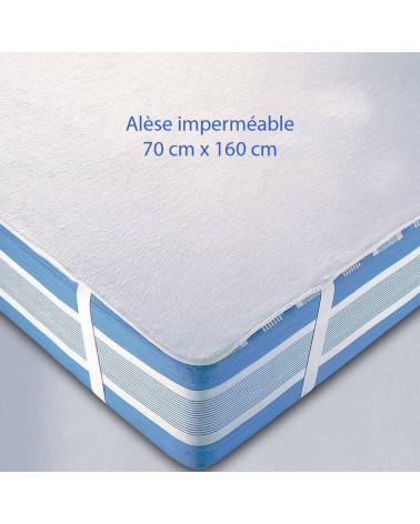 Alèse imperméable 160 x 70 cm pour lit junior