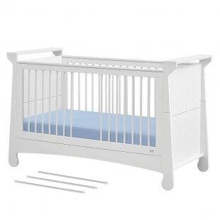 Lit bébé évolutif Parole avec les 3 barreaux retirés