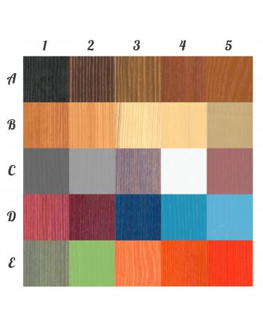 Armoire personnalisable deux portes personnalisable dans ces couleurs, nous contacter pour personnaliser.