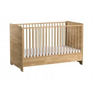 Lit bébé évolutif collection Betula - Bouleau Massif