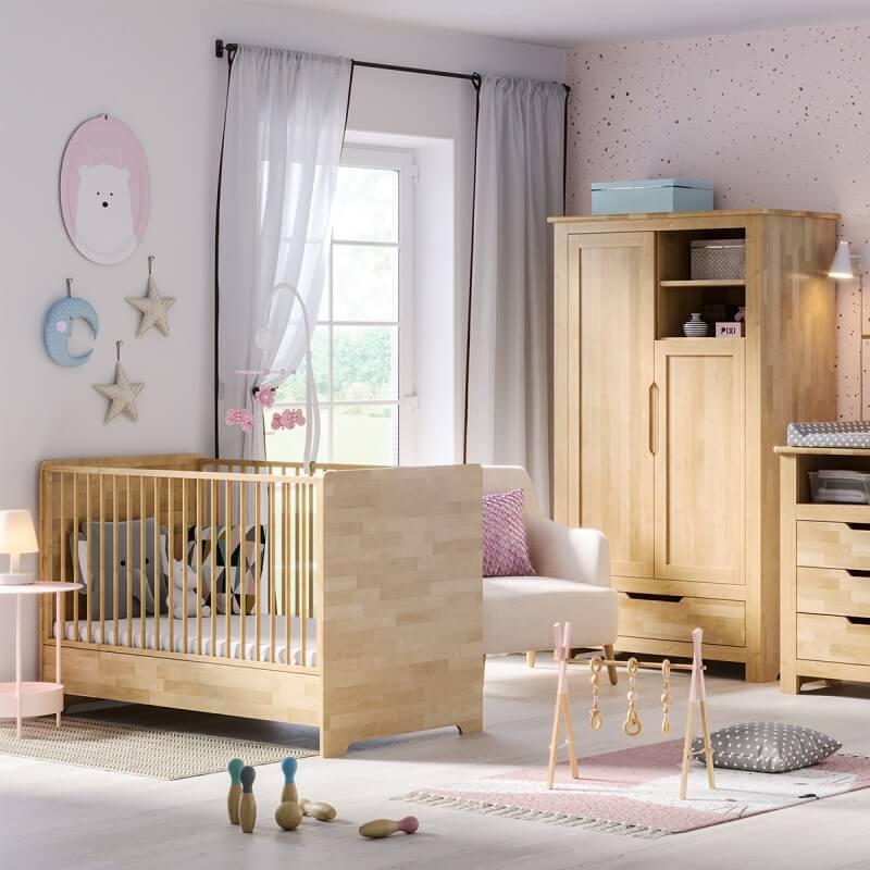 Chambre bébé Bétula en Bouleau Massif